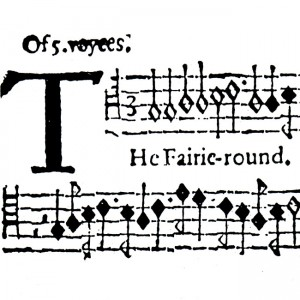Holborne Fairie-round music extract